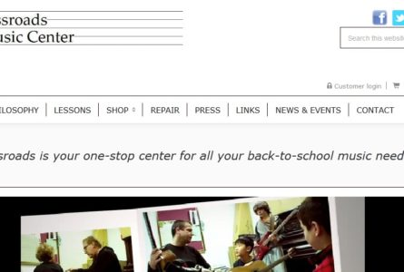The Brothers Of Invention are proud to announce the launch of Crossroads Music Center.com. Crossroads is your one-stop center for all your back-to-school music needs!